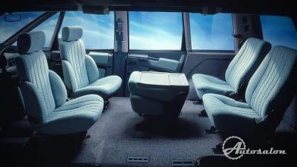 Renault Espace první generace interiér