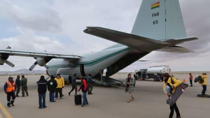 Přepravní letadlo bolivijské armády