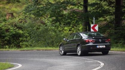 Ojetý Volkwagen CC jízda 9