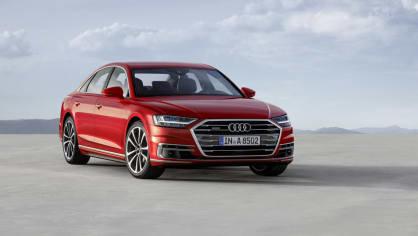 Vlajková loď Audi odhalena. Nová A8 10