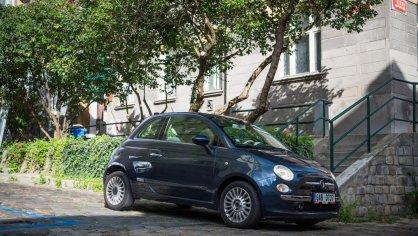 Fiat 500 1.4 16v ve městě 6