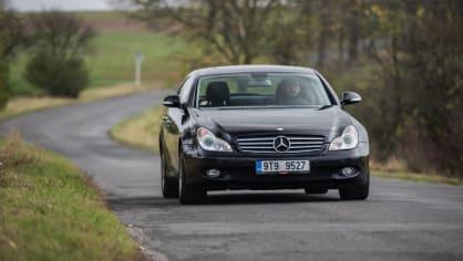 Mercedes-Benz CLS 320 CDI jízda 6