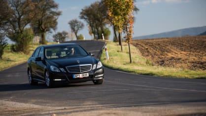 Mercedes-Benz E 220 CDI jízda 5