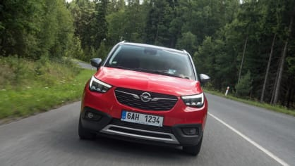 Opel Crossland X jízda 9