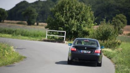 BMW 530i E60 jízda 18