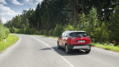 Opel Crossland X jízda 11