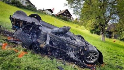 Nehoda Richarda Hammonda