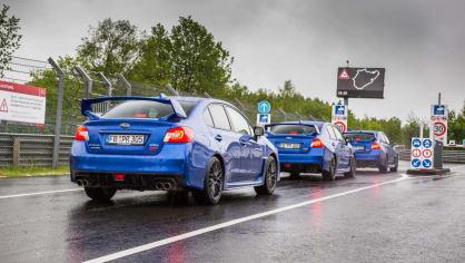 Speciál Subaru pro rekord na Nürburgringu 8