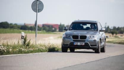 BMW X3 xDrive20d jízda 17