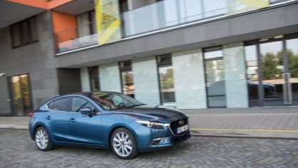 Mazda 3 má sportovní ambice. 8