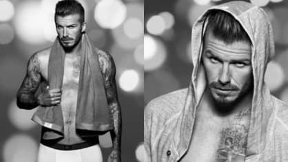 David Beckham pro H&M