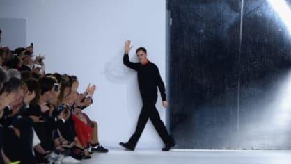 Návrhář módního domu Christian Dior Raf Simons
