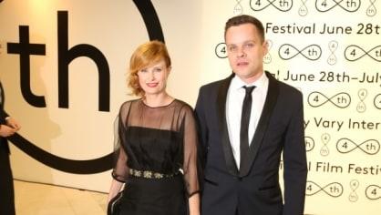 Herečka Jitka Schneiderová s přítelem Davidem