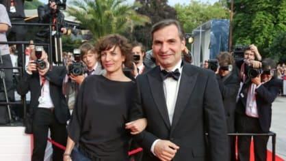 Herec Jiří Macháček s partnerkou Kristýnou