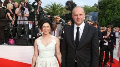 Herečka Martha Issová s partnerem, filmovým producentem Davidem Ondříčkem