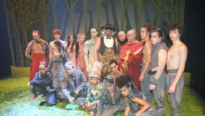 Herci z muzikálu Mauglí