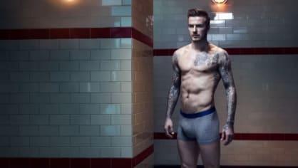 Sexy David Beckham ve spodkách... Davide, příště radši bez