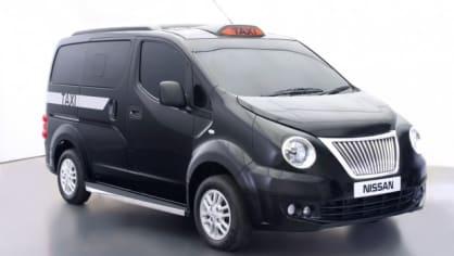 Nissan ukázal nový taxík pro Londýn