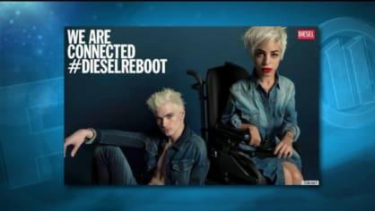 """Když kreativní ředitel značky Diesel hledal modelky a modely pro jarní kampaň, přihlásila se prý newyorská editorka Jillian Mercado """"jen tak z legrace"""""""