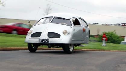 Může být řízení auta se 6 koňmi děsivější než řízení auta se 600? Hoffmannu se to povedlo, je extrémně nestabilní.