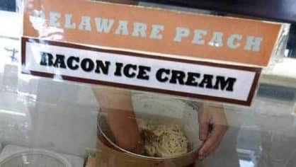 Zmrzlina ze slanina může být lahůdka