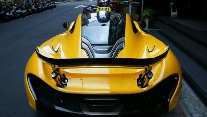 Taxík snů: McLaren P1 - Obrázek 3