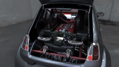 Lazzarini 550 Italia Prototipo Unico 1