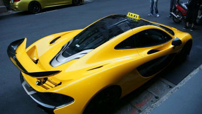 Taxík snů: McLaren P1 - Obrázek 4