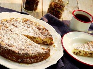 Fotografie k receptu Šťavnatý tvarohový koláč