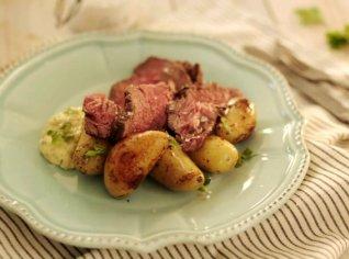 Fotografie k receptu Roastbeef s domácí tatarkou