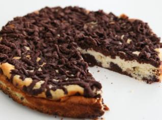 Fotografie k receptu Dvoubarevný střapatý koláč