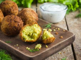 Fotografie k receptu Falafel
