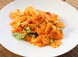 Fotografie k receptu Pikantní mrkvový salát