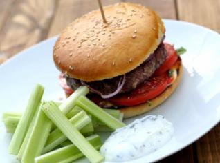 Fotografie k receptu Floridský burger