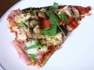 Fotografie k receptu Zdravá květáková bezlepková pizza