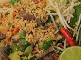 Fotografie k receptu Thajský hovězí salát