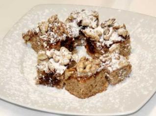 Fotografie k receptu Ořechové řezy