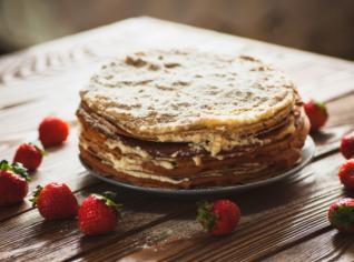 Fotografie k receptu Palačinkový dort