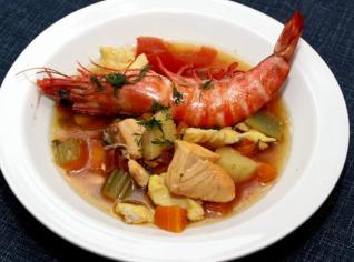 Fotografie k receptu Středomořská polévka
