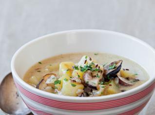 Fotografie k receptu Houbová polévka