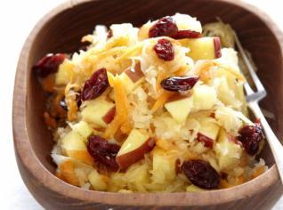 Fotografie k receptu Zimní salát tří vůní