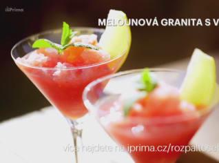 Fotografie k receptu Melounová granita s vodkou