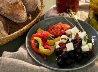Fotografie k receptu Feta marinovaná po Řecku