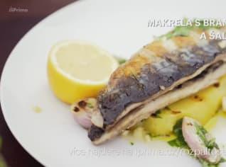 Fotografie k receptu Makrela s bramborem a šalotkama