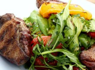 Fotografie k receptu Divoká kachna se salátem