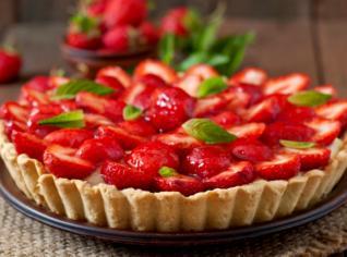 Fotografie k receptu Jahodový koláč