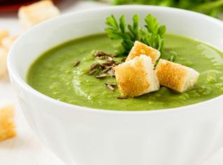 Fotografie k receptu Hrášková polévka