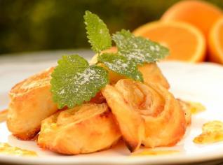 Fotografie k receptu Pomerančové růže