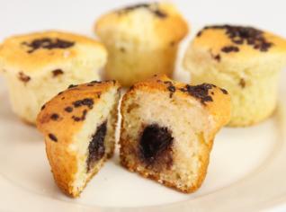 Fotografie k receptu Muffin s pralinkou