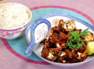 Fotografie k receptu Tofu s květákem
